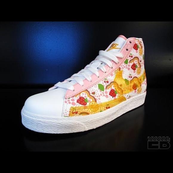Nike Other - Nike Strawberry Shortcake Hi Tops Size 6